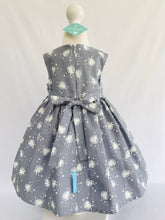 The Wishfairy Bunty Baby Dress (Fairies on Grey Glow in The Dark)