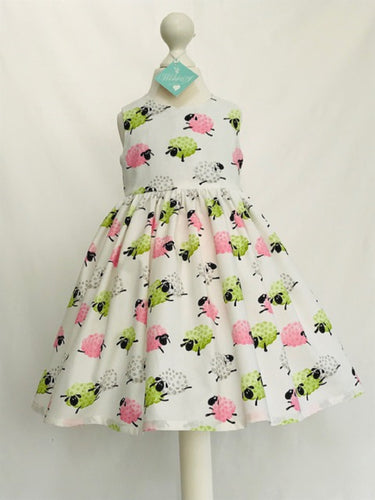 The Wishfairy Eve Dress 'Fluffy Sheep'