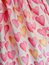 The Wishfairy Eve Dress 'Large Pink Hearts'