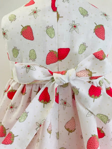 The Wishfairy Bunty Baby Dress (Strawberries)