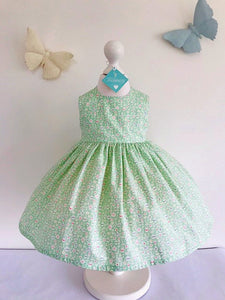 The Wishfairy Bunty Baby Dress (Liberty Teacup Treasures)