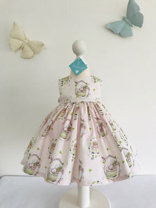 The Wishfairy Bunty Baby Dress (Mrs Tiggy-Winkle)
