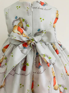 The Wishfairy Bunty Baby Dress (Flopsy Bunny)