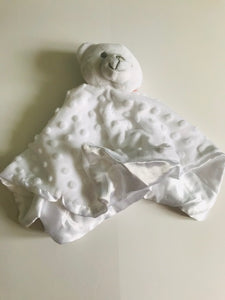 Branded Boutique Dimple Bear Comforter White