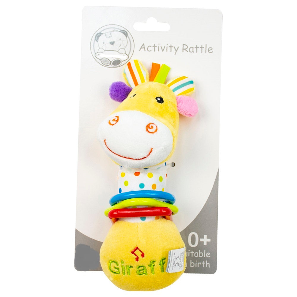 Branded Boutique Musical Activity Giraffe Rattle