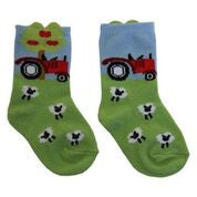 Branded Boutique Tractor Farmyard Socks