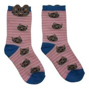 Branded Boutique Cat Motif Socks