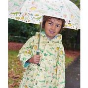 Branded Boutique Dinosaur Print Raincoat