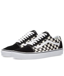 92252b8815e634 Vans Old Skool Primary Check Black White Checkerboard Skate Shoes Size US 9  New -