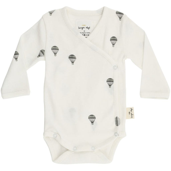 Organic Cotton Newborn Body - Parachute Print