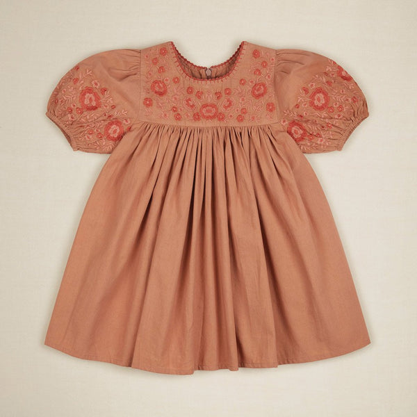 Apolina Kids BESS DRESS - PRALINE