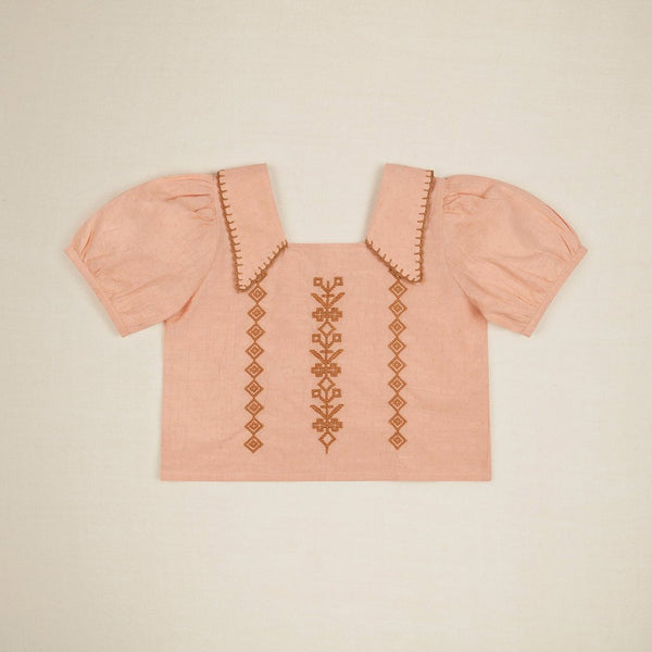 Apolina Kids DOLORES BLOUSE - ROSE