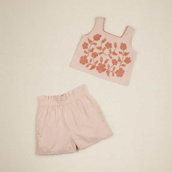 Apolina Kids ERMA SHORT SET - PEONY