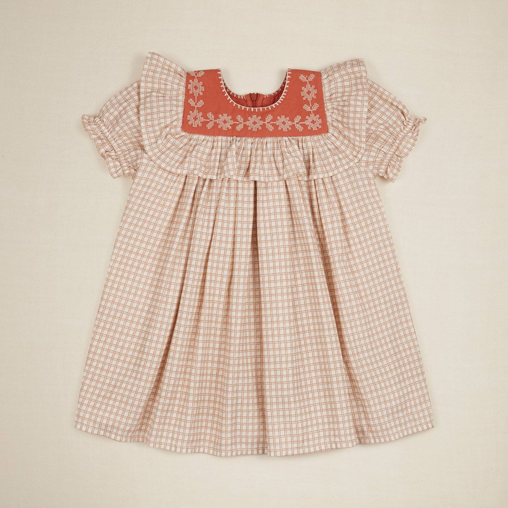 Apolina Kids JOSEPHINA DRESS- PICNIC CHECK