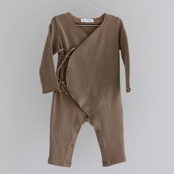 CO Label Warm Eddie Baby Suit - Caramel