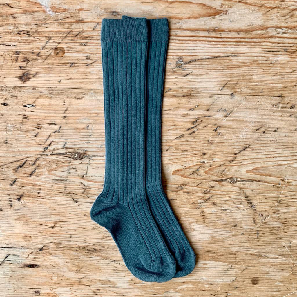 LONG SOCKS - PETROL - 470