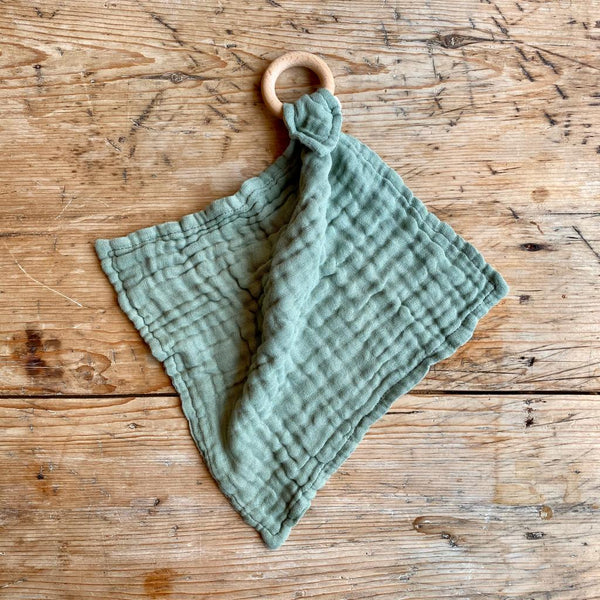 Dove Dovelet Organic Cotton Lovey - DESERT SAGE