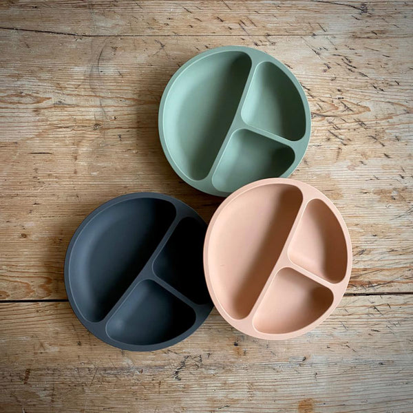 Dove Dovelet Silicone Divided Plate