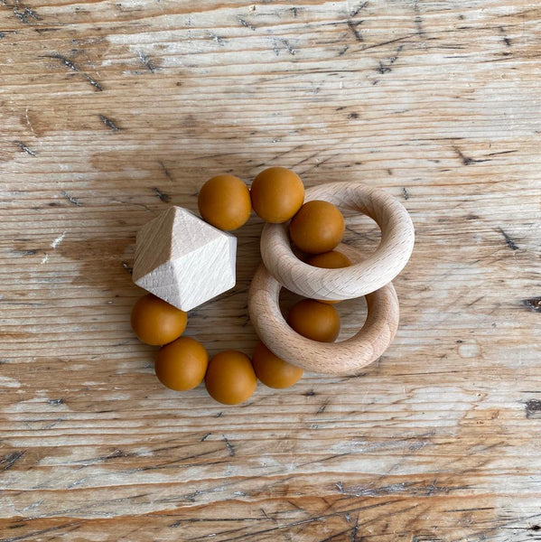 TITAN silicone teething toy - BUCKTHORN