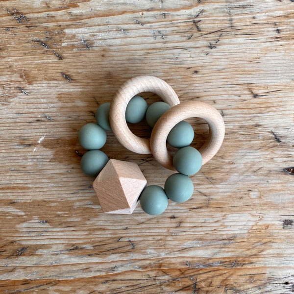 TITAN silicone teething toy - SAGE