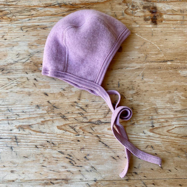 Engel Organic Wool Fleece Baby Bonnet