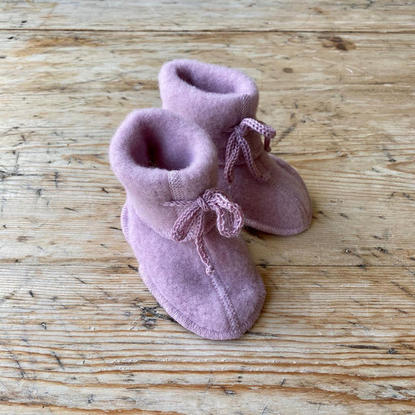 Engel Organic Wool Fleece Baby Booties