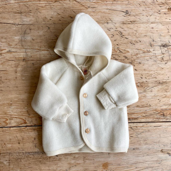 Engel Organic Wool Fleece Jacket - Natural