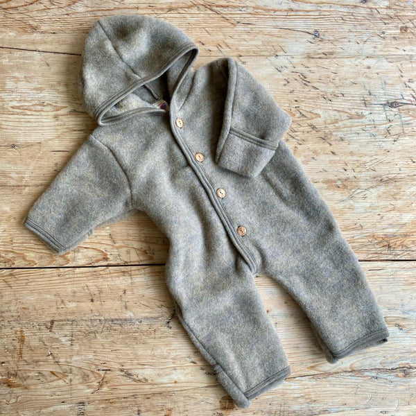 Engel Organic Wool Fleece Onesie
