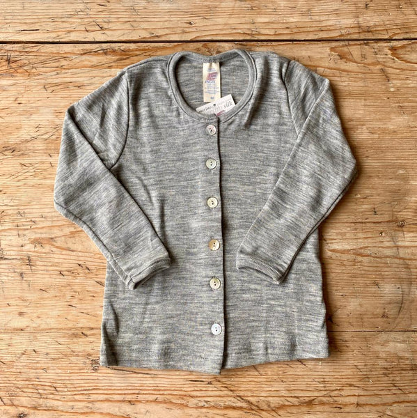 Engel Organic Wool & Silk Cardigan