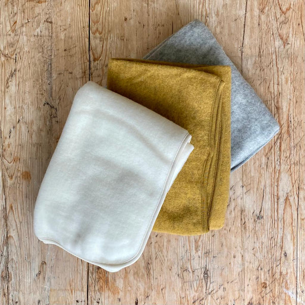 Engel Organic Wool Fleece Baby Blanket