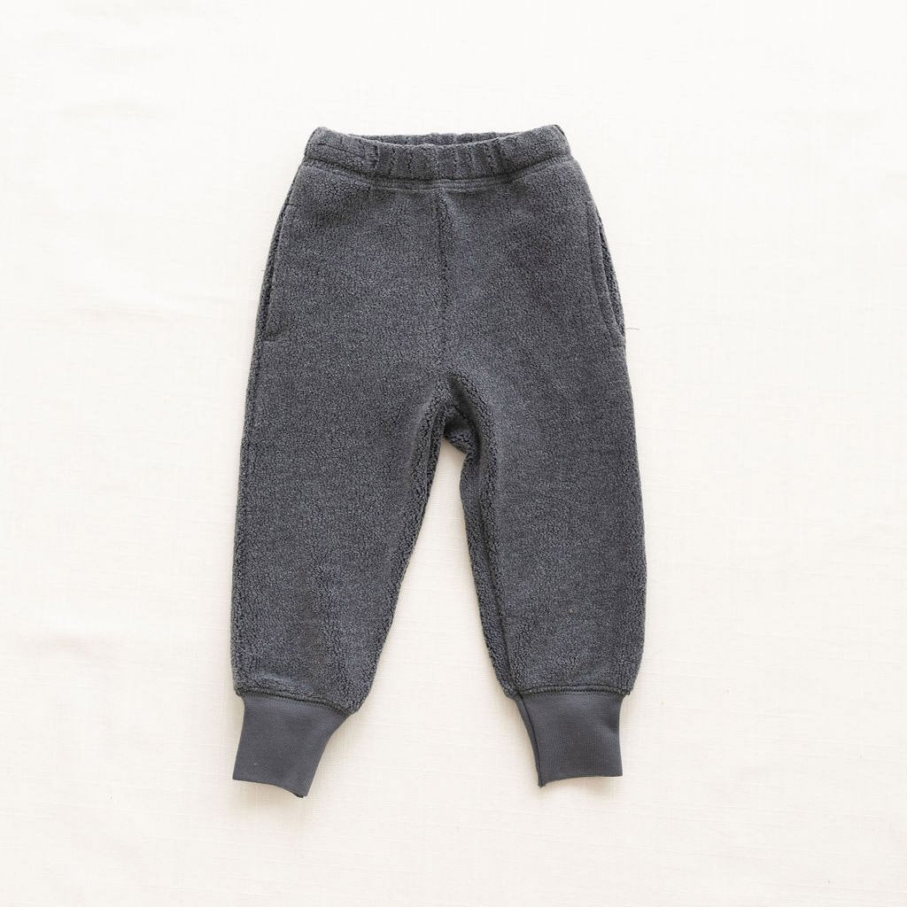 Fin & Vince Sherpa Joggers charcoal