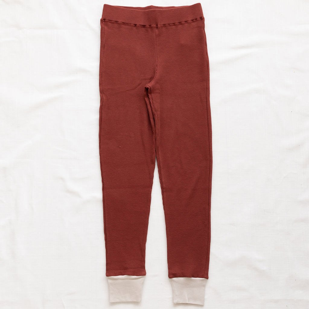 Fin & Vince Women's Pant gingerbread waffle