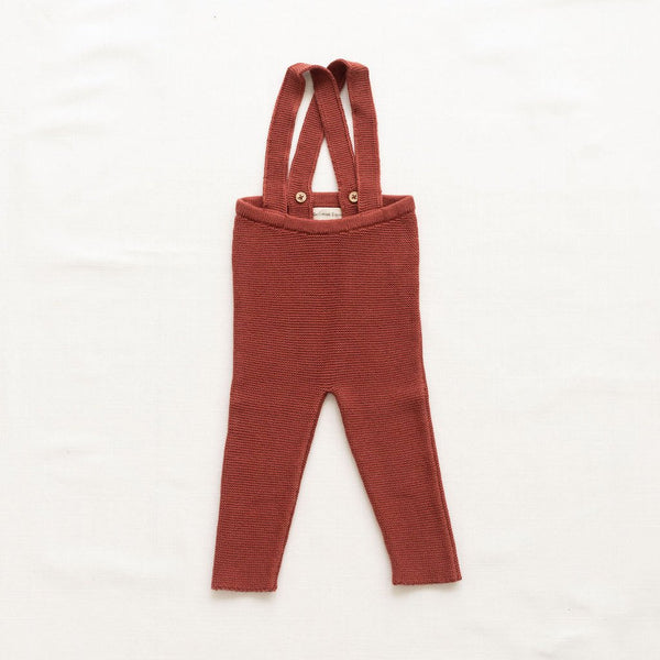 Fin & Vince knitted suspender pant