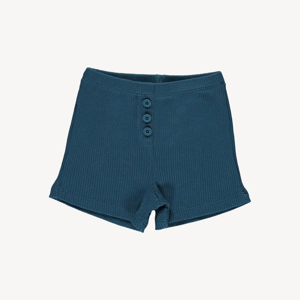 Fin & Vince cozy short - ocean blue