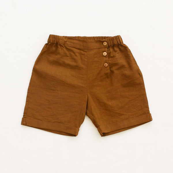 Fin and Vince short trouser toffee