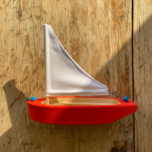 Sail Boat Red