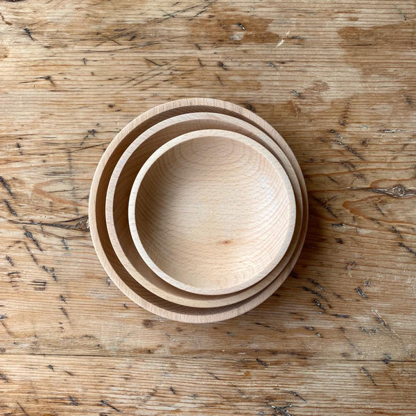 Gluckskafer Wooden Bowl