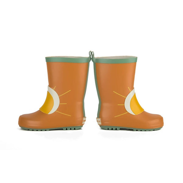 Grech Co Natural Rubber Rainboot - Spice