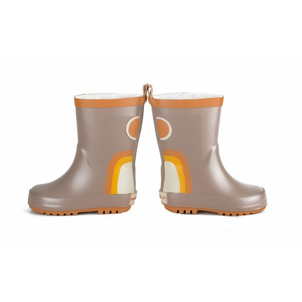 Grech Co Natural Rubber Rainboot - Stone