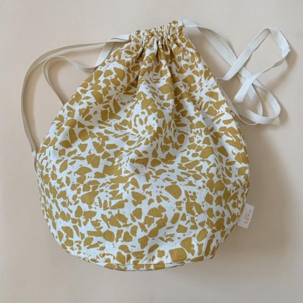 Organic Cotton Multi Bag Big - Terrazzo Mustard