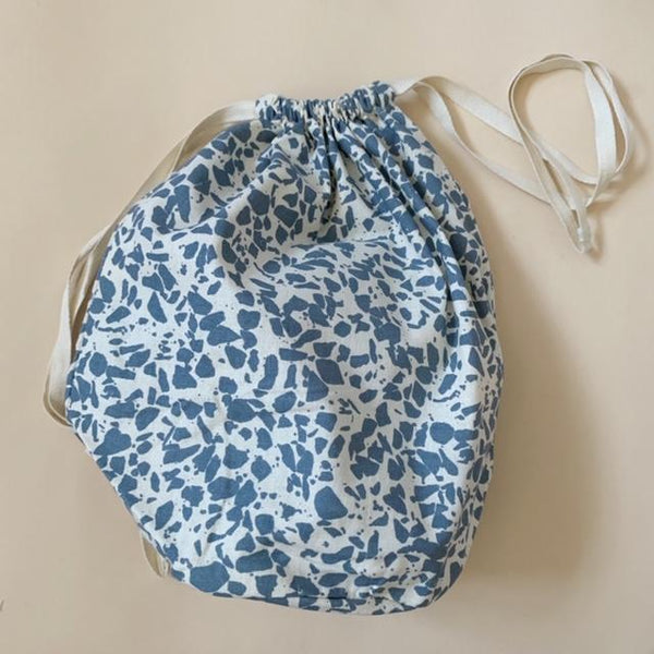 Organic Cotton Multi Bag Big - Terrazzo Ocean