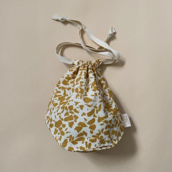 Organic Cotton Multi Bag Small - Terrazzo Mustard