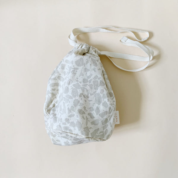 Organic Cotton Multi Bag Small - Terrazzo Oyster