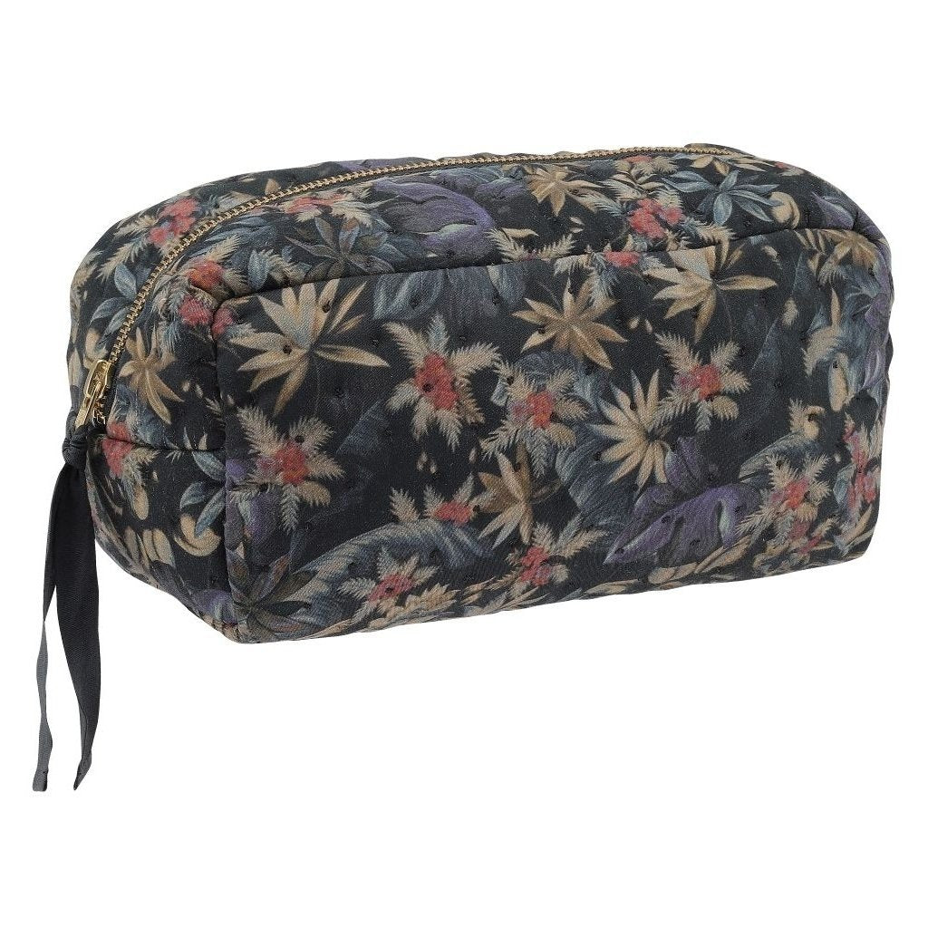 Organic Cotton Quilted Toiletry Bag - Marquis