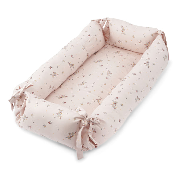 Konges Slojd  Organic Cotton Baby Nest Nostalgie Blush
