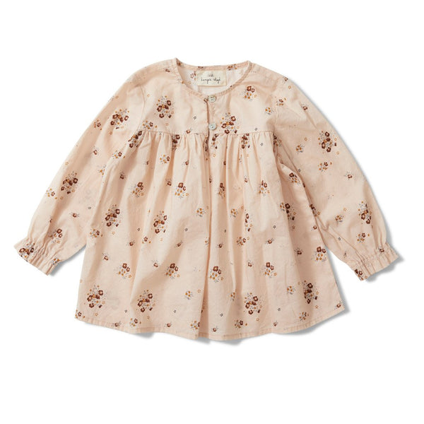 Konges Slojd ORGANIC COTTON ALMA BLOUSE - NOSTALGIE BLUSH
