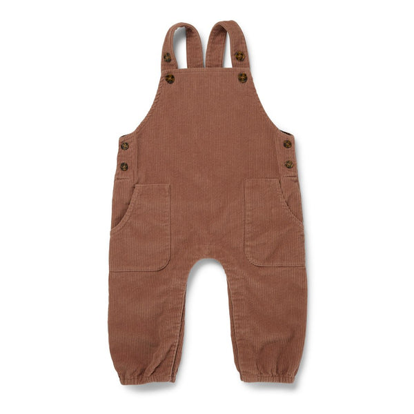 Konges Slojd ORGANIC COTTON SPENCER OVERALL - ROSE BLUSH
