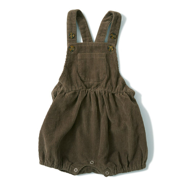 Konges Slojd ORGANIC COTTON SPENCER ROMPER