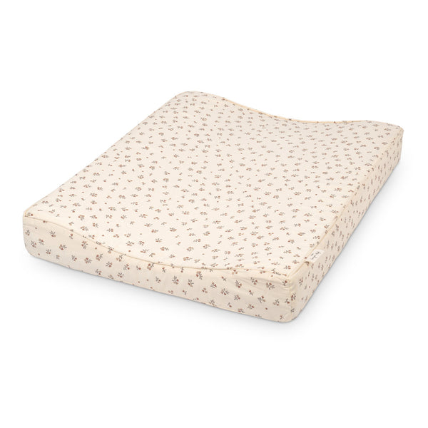 Konges Slojd Organic Cotton Changing Cushion - Petit Amour Rose
