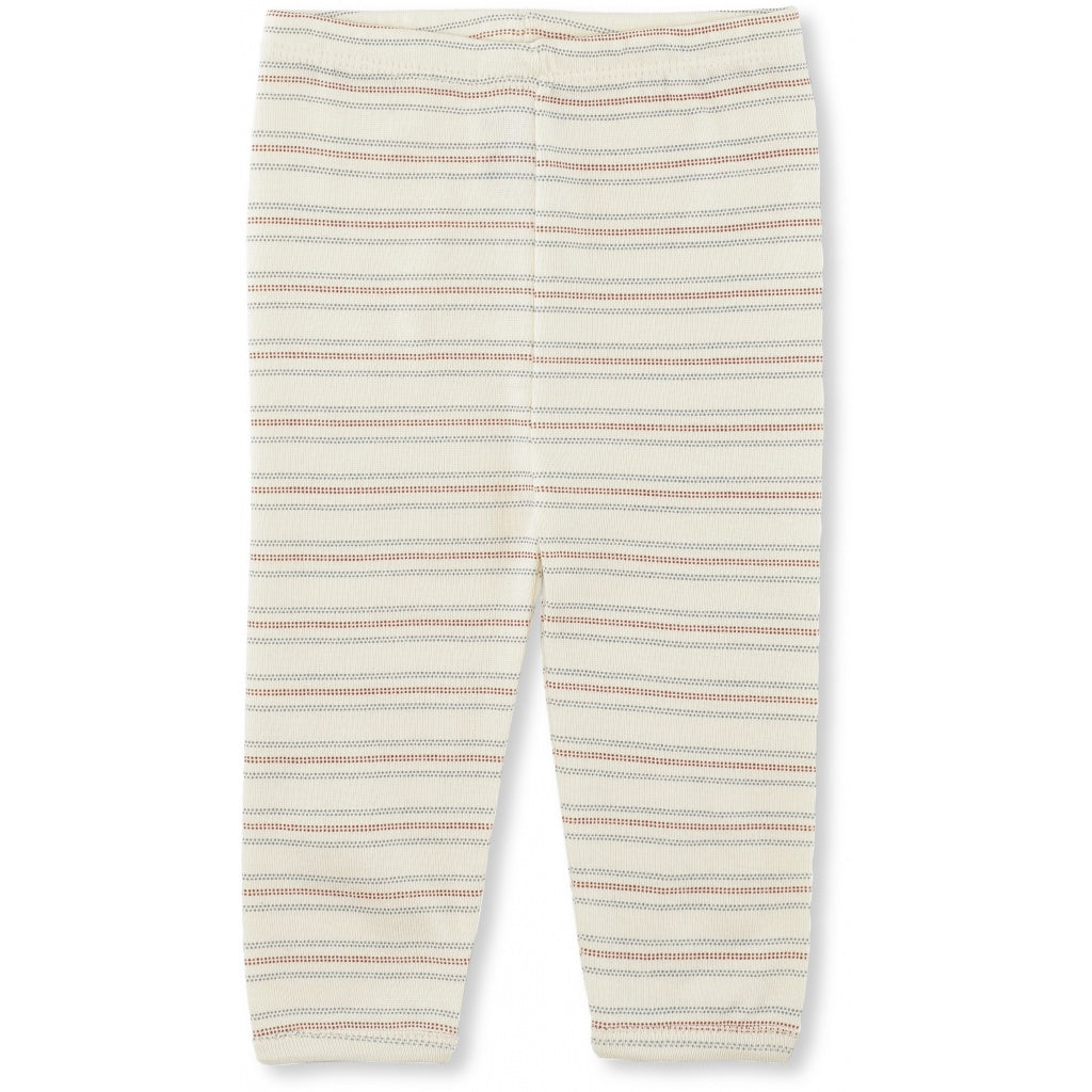 Konges Slojd Organic Cotton Newborn Leggings Vintage Stripe